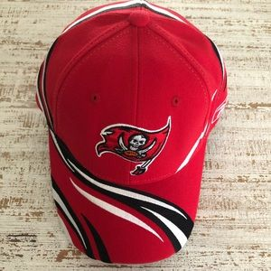 Fitted Red Tampa Bay Buccaneers Hat